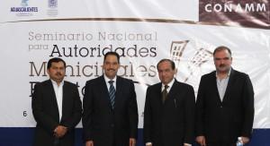 El alcalde Juan Antonio Martín del Campo ANUNCIA SEMINARIO NACIONAL PARA AUTORIDADES MUNICIPALES ELECTAS A realizarse del 6 al 7 de agosto próximos