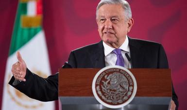 PRESIDENCIA DE LA REPÚBLICA / Próximo 15 de febrero se define si procede rifa de avión presidencial, informa presidente López Obrador