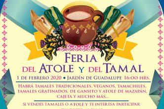 """Turismo / INVITA MUNICIPIO A """"LA CANDELARIA"""": FERIA DEL TAMAL Y DEL ATOLE"""