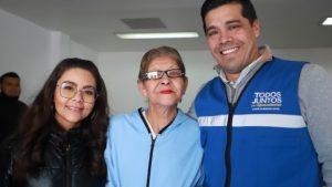 Secretaría de Desarrollo Social / MUNICIPIO Y CLUB DE LEONES ENTREGAN LENTES A LA POBLACIÓN
