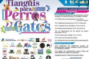 "IMAC / INVITA MUNICIPIO A ""PRIMER TIANGUIS PARA PERROS Y GATOS"""