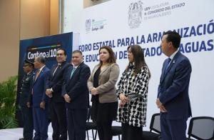 Congreso del Estado / CONGRESO DEL ESTADO ENCABEZÓ FORO PARA LA ARMONIZACIÓN DE LA LEY DE EDUCACIÓN DEL ESTADO DE AGUASCALIENTES