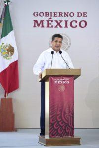 Francisco Javier García Cabeza de Vaca /  SE DESLINDA DE VÍNCULOS CON EL NARCO  Y EXIJE AL PRESIDENTE MÁS PARTICIPACIONES