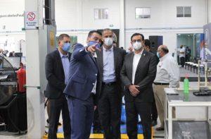 JESÚS MARÍA / Asiste el alcalde Arámbula a la inauguración de la nueva planta Solinda Tools