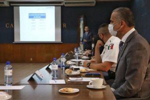 J.A. ARÁMBULA / Participa presidente municipal de Jesús María en reunión de trabajo del IESPA