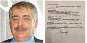 Carta Póstuma a Omar García Harfuch  / MUERE EL PERIODISTA JUAN BUSTILLOS
