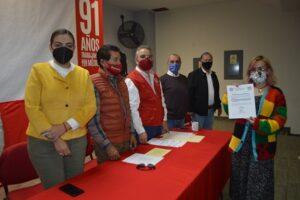 RINDEN PROTESTA PRESIDENTES DE LOS 11 COMITÉS MUNICIPALES Y DELEGADOS DISTRITALES DE LA ASOCIACIÓN GENERAL LEANDRO VALLE