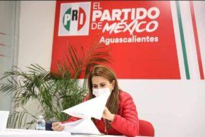 Total, respaldo del / COMITÉ EJECUTIVO NACIONAL AL COMITÉ DIRECTIVO ESTATAL DEL PRI AGUASCALIENTES