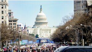 Washington altamente militarizado antes de la inauguración de Biden