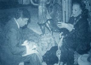 EDMUNDO CÁZARES entrevista a MARÍA FÉLIX